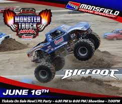 100 Monster Truck Unleashed Mania Mansfield Motor Speedway