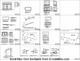 sharty 6x10 lean to shed plans