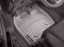 Weatherproof Floor Mats For Cars With Custom Fit Black 3 Piece All ...