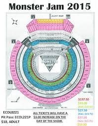 100 Monster Truck Oakland Jam Arena And RingCentral Coliseum
