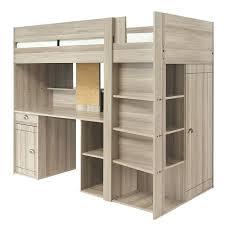 lit bureau armoire combiné lit mezzanine avec bureau et armoire integres lit combine lit