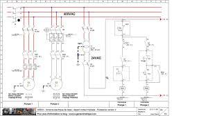 seb03 schéma électrique départ moteur triphasé démarrage direct