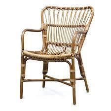 Rattan Dining Chairs Retro Arm Chair Pk Room Sale