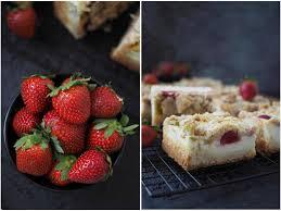 erdbeer rhabarber käsekuchen mit streuseln wiewowasistgut