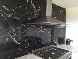 Patterned Tiles Black Marble
