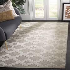 safavieh wohnzimmer teppich lna624 gewebter wolle und