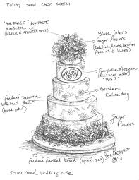 For the Love of Cake by Garry & Ana Parzych Today Throws a Modern Day Wedding Wedding Cake NYC Style