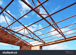 100 House Trusses Roofing Construction Metal Roof Frame Stock Photo Edit Now