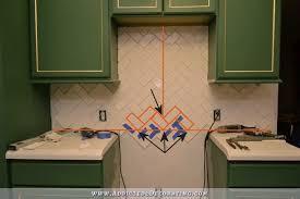 2x8 subway tile backsplash how to install a herringbone subway tile backsplash