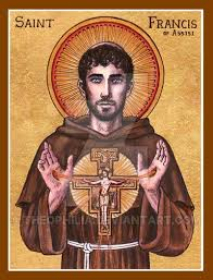 st francis of assisi icon by theophilia on deviantart
