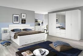 rauch schlafzimmer komplettangebot schubladenbett kleiderschrank alpinweiß