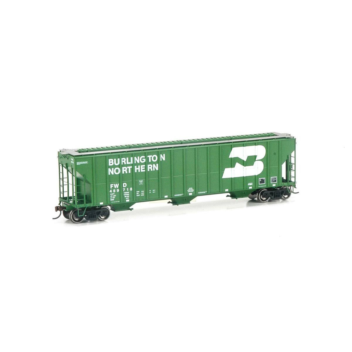 Athearn ATH81967 HO RTR FMC Covered Hopper, BN/FW&D #459718