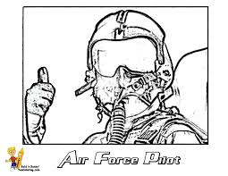 Print Picture Of Air Force Pilot