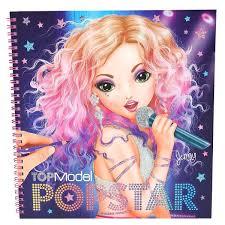 TOPModel 6581001 Mangam Odel Livre à Colorier Avec 35 Feuilles à Colorier 2 Faces Pour Ausklappen 2 Feuilles Stickers