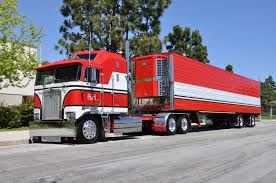 OWNBY TRUCKING - KENWORTH CAB-OVER-ENGINE BIG RIG TRUCK (18 WHEELER ...