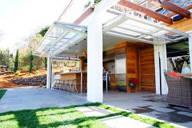 overhead door tulsa Patio Traditional with aircraft hanger style