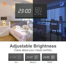 küche haushalt wohnen digitale wecker digitaluhr wecker
