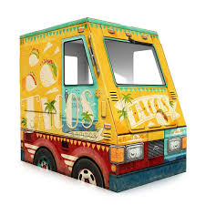 Taco Truck Playhouse | Food Truck, Toy Truck | UncommonGoods Epic Tacos La Gourmet In Since 1998 Lloyd Taco Truck Step Out Buffalo Heaven Taqueria El Pecas Street Stalls Food Stand The First Baltimore Week Is Coming Heres What To Taco Truck Fast Food Icon Vector Graphic Stock Art Cart Wraps Wrapping Nj Nyc Max Vehicle Memphis Top 7 Restaurants One Guerrilla Jersey City Trucks Roaming Hunger Playhouse Toy Uncommongoods Doll