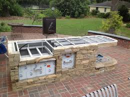 Lovely Small Outdoor Kitchen Ideas - Taste Just About Done With My Outdoor Kitchen Diy Granite Grill Hot Do It Yourself Outdoor Kitchen How To Build Cabinets Options For An Affordable Lighting Flooring Diy Ideas Glass Countertops Oak Kitchens On A Budget Best Stunning Home Appliance Brick Stonework Brings Balance Of Cheap Hgtv Kits Decor Design Amazing Island Designs Plans Patio To