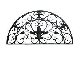 Wall Decor Awesome Metal Hangings Nz Wrought Iron Art Intended For Most Recently