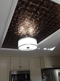 tin ceiling accent a way to cover up an kitchen dome