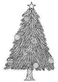 Christmas Tree With Ball Ornaments By Bimdeedee Coloring Page Pages For Kids Onlinechristmas