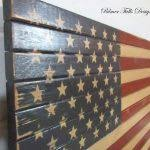 Wall Art Designs American Flag Traditional Wood Patriotic