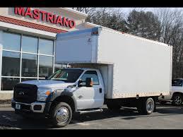 100 2014 Ford Diesel Trucks Used Super Duty F550 DRW 16 FT BOX TRUCK