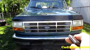 1996 Ford F-150 XLT Start Up, Exhaust And Full Tour - YouTube