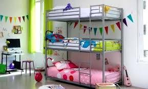 chambre avec lit superposé chambre ado avec lit mezzanine chambre ado lit superpose 14