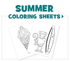 FREE Printable Coloring Sheets