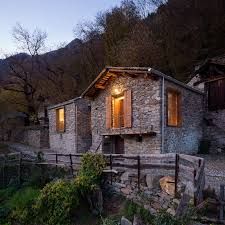 100 Modern Italian House Designs Restoration Of A 16th Century Mountain Village Stone