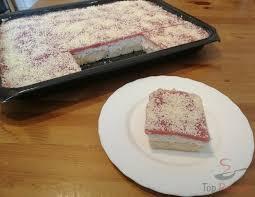schneewittchen erfrischender erdbeer quark kuchen ohne backen