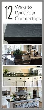 How to Paint Countertops 12 Tutorials Painted Furniture Ideas