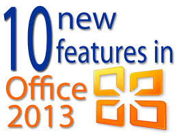 Quick tour 10 new features of Microsoft fice 2013
