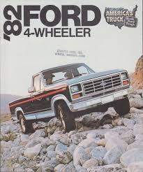 100 Ford Truck 1980 1982 Sales Brochure