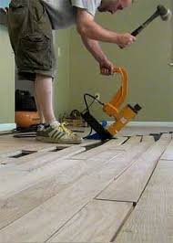Underlayment For Bamboo Hardwood Flooring by Installing Solid Hardwood Floors Fastening By Nails Or Staples