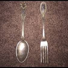 Antique Fork And Spoon Wall Decor