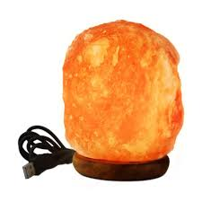 Himalayan Ionic Salt Lamp by Wbm Himalayan 3 In Led Usb Himalayan Ionic Crystal Salt Mini Lamp
