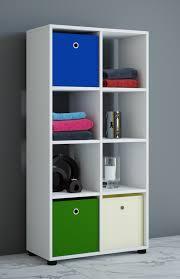 vcm badregal raumteiler badschrank badmöbel regal hochschrank benos 2x4 weiß 123 x 60 x 30 cm badezimmermöbel holz badmöbel raumteiler badregal
