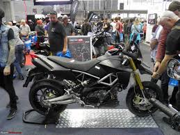 The Sydney Motorcycle Scooter Show 2013 Aprilia Dorsoduro 750