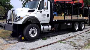 100 Truck Magnet 2011 HI RAIL GRAPPLE TRUCK PALFINGER GRAPPLE WITH MAGNET YouTube