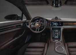 2019 Porsche Panamera Sports Turismo Interior 4K Auto SUV 2018