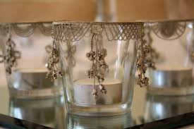 Silver And Glass Vintage Votives