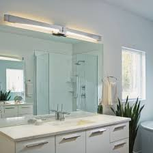 Modern Bathroom Vanity Sconces by Glide Led Bath Bar Sconce U2013 Hubbardton Forge