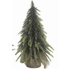 Artificial Tabletop Christmas Tree Set Of 2