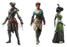 Assassins Creed Liberation Outfits All
