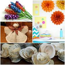 Craft Ideas With Paper Decorating DIY Decoration