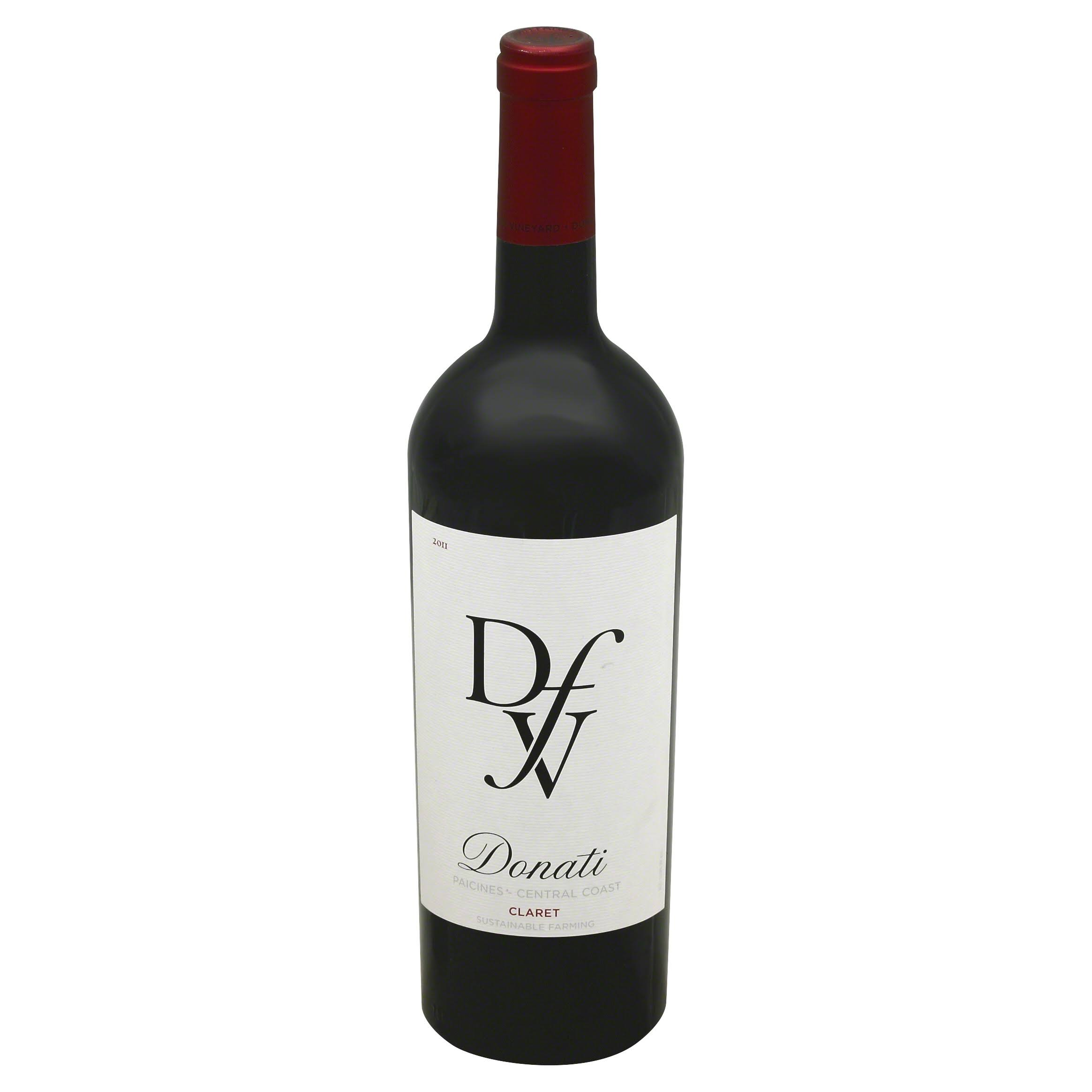 Donati Claret, Paicines - Central Coast, 2011 - 750 ml