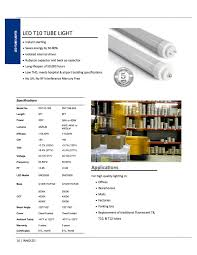 Non Shunted Lamp Holders Tombstones by T10 Led Tube Lights Led Fluorescent Tube